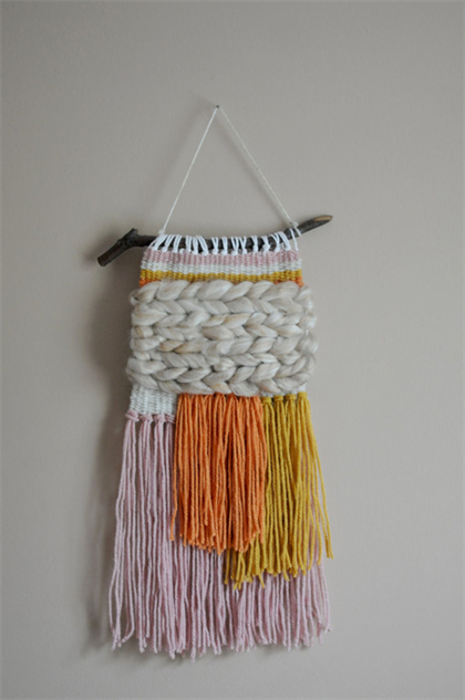 Woven Wall Hangings 30 woven wall hangings to spruce up your pad :: design