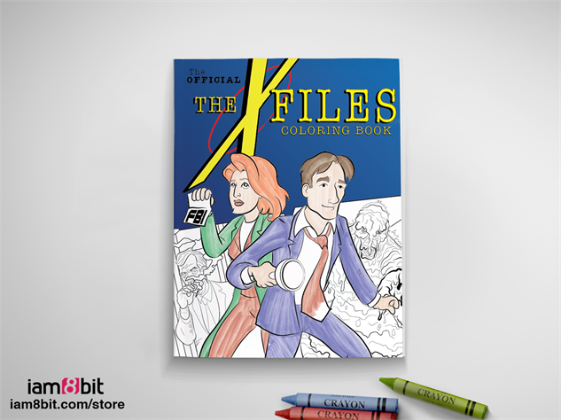 x-files-art-exhibit 01-x-files-coloring-book-iam8bit