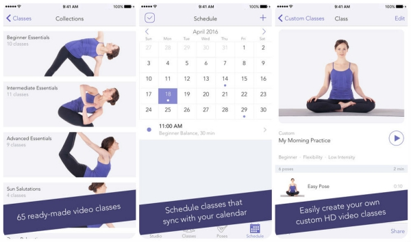 find your center with these 10 yoga apps for ios tech galleries ios paste. Black Bedroom Furniture Sets. Home Design Ideas