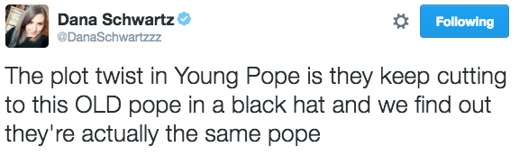 young-pope-tweets danaschwartzzz