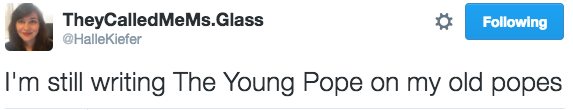 young-pope-tweets hallekiefer