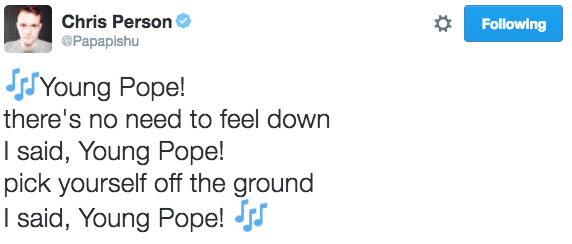 young-pope-tweets papapishu